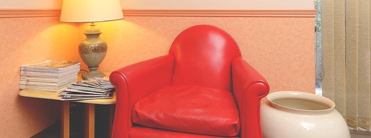 完全個室でプライバシーに配慮リラックスできる院内環境